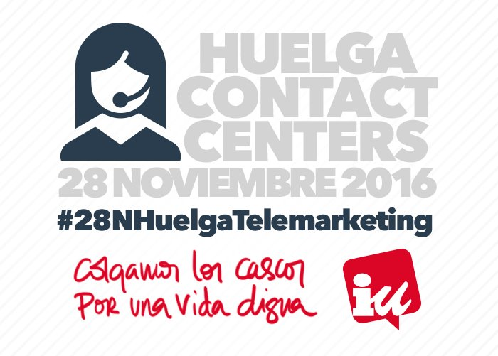 Apoyamos las movilizaciones del sector de Contact Center por un convenio digno