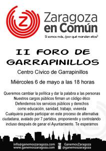 150506.II Foro Garrapinillos ZeC
