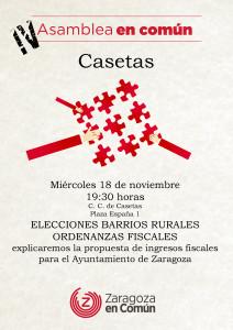 IV Asamblea Casetas