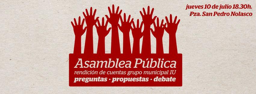 asamblea publica