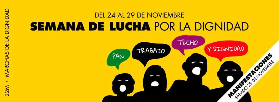 marchas dignidad 2014 2