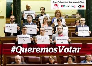 queremos votar