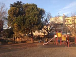 Zona de juegos Colegio Aragón