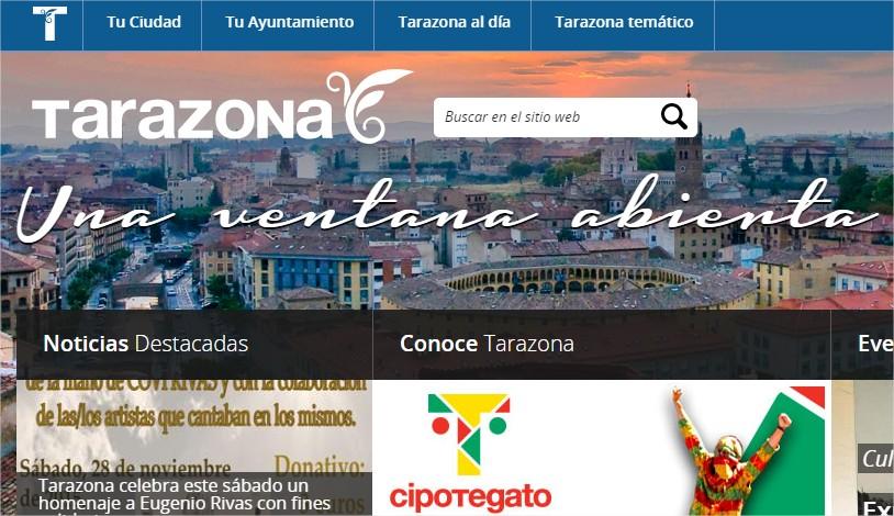 Ayuntamiento de Tarazona  Una ventana abierta - Google Chrome