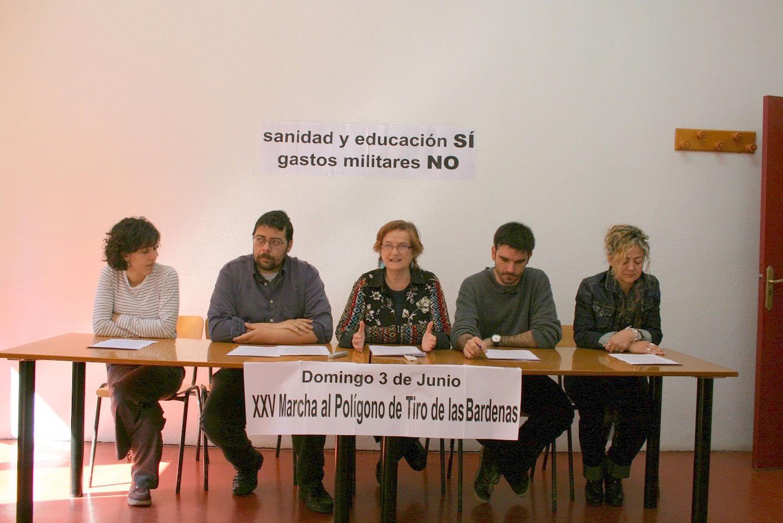 XXV Marcha contra el polígono de tiro de las Bardenas
