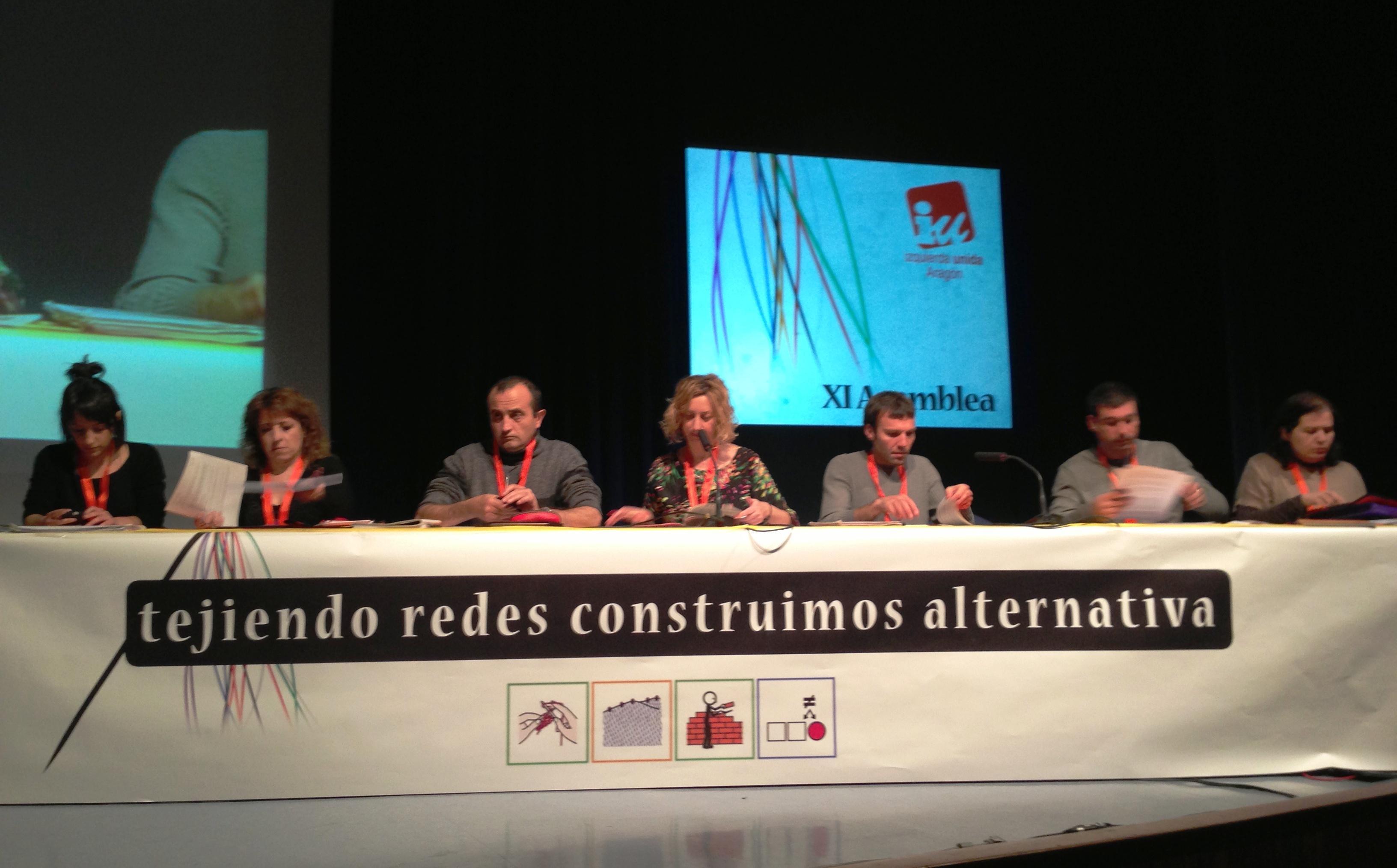 Las y los delegados de nuestra XI Asamblea aprueban en informe de gestión del Coordinador saliente, Adolfo Barrena