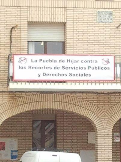 Mostramos nuestro compromiso en la lucha por la defensa de los servicios públicos y los derechos sociales