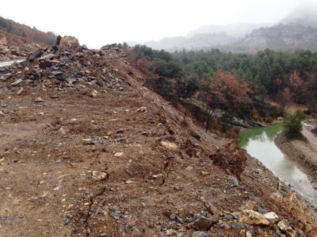 Aso pregunta a Lobón por las obras de la carretera Aínsa-Arcusa, promovidas por la DPH