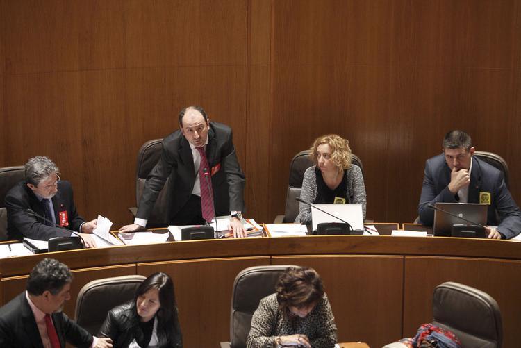 Aprobada la comisión de investigación de Pla-Za con el apoyo de IU, PSOE, CHA y PP y la abstención del PAR