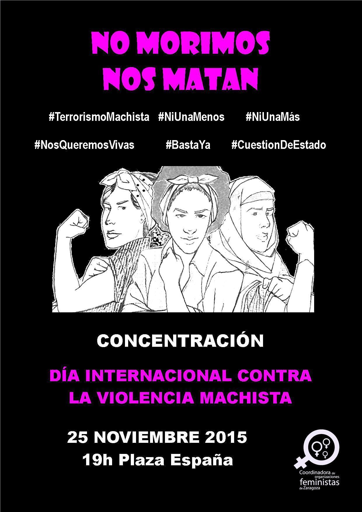 Nos sumamos a las movilizaciones convocadas el 25 N, Día Internacional contra la Violencia Machista