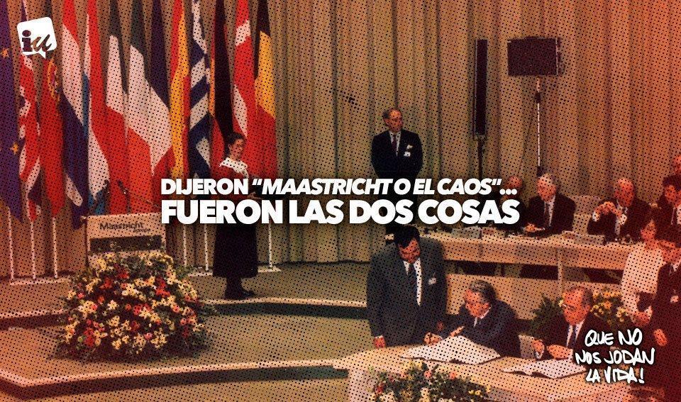 25 años de Maastricht