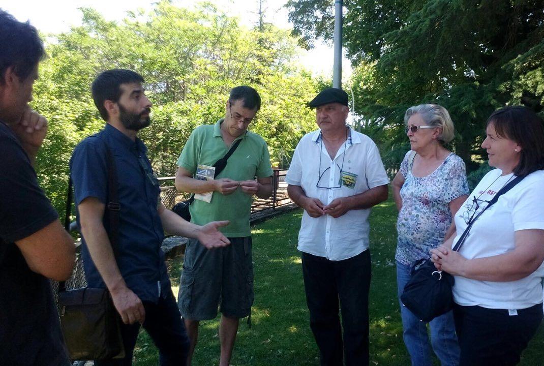 Reunión con la Plataforma Ciudadanos Afectados por la variante de Jaca