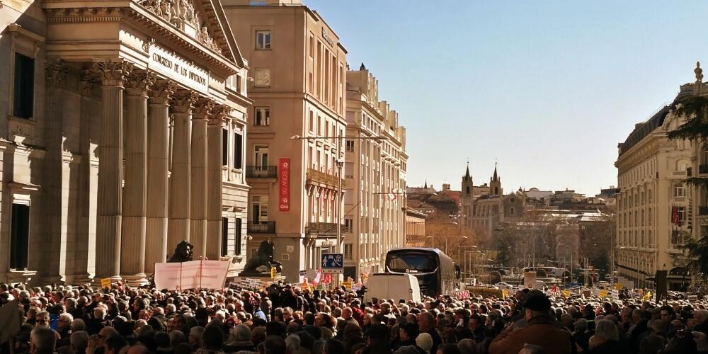 Rajoy, las pensiones, el oportunismo y el chantaje