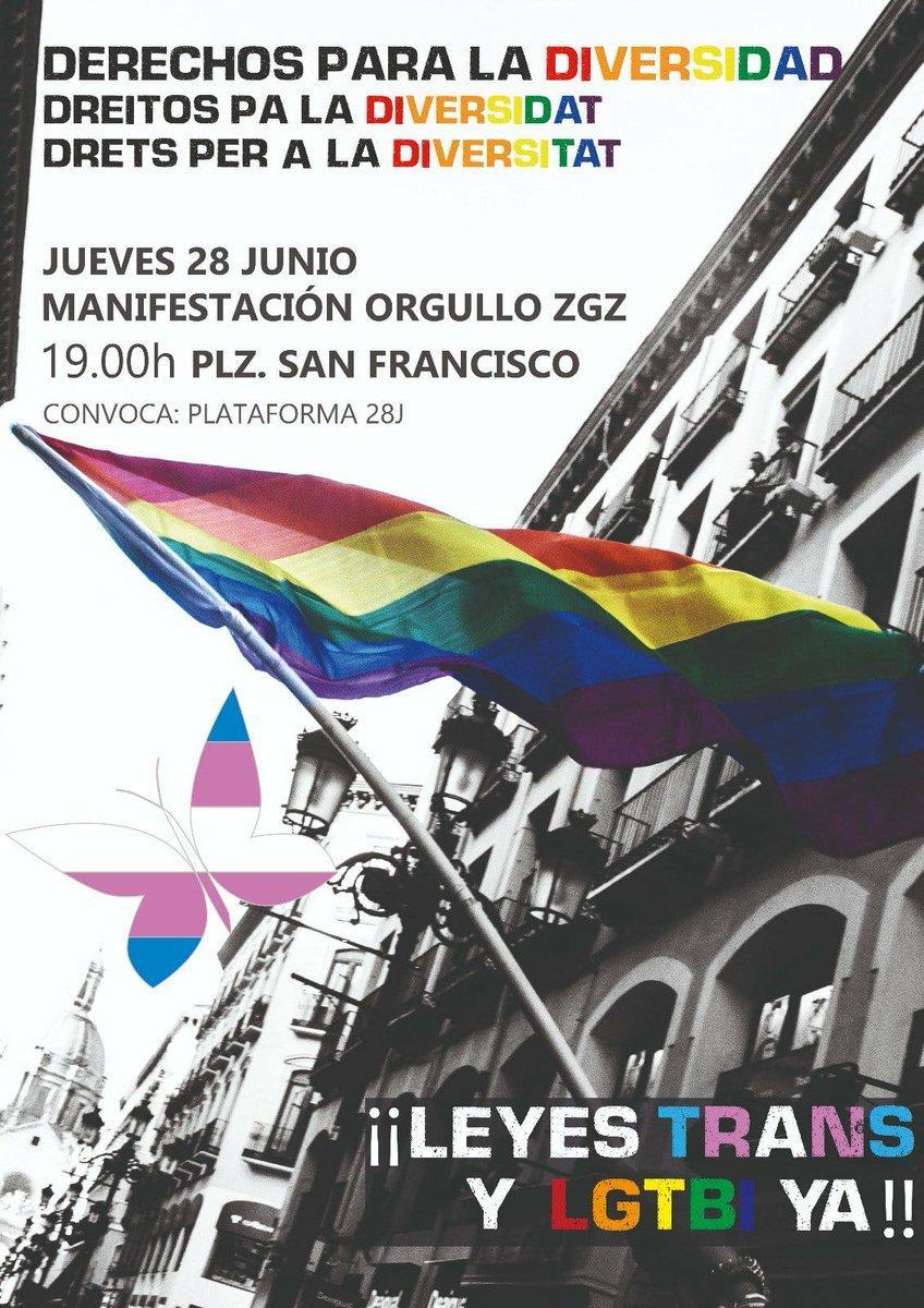 Condenamos la discriminación y las agresiones LGBTIfóbicas y reclamamos una ley integral trans y LGTBI de carácter estatal