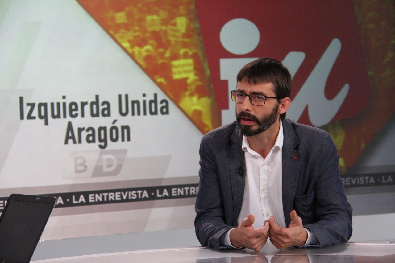 """Sanz: """"La venta de armas a Arabia Saudí convierte a Aragón en cómplice de la comisión de crímenes contra la humanidad"""""""