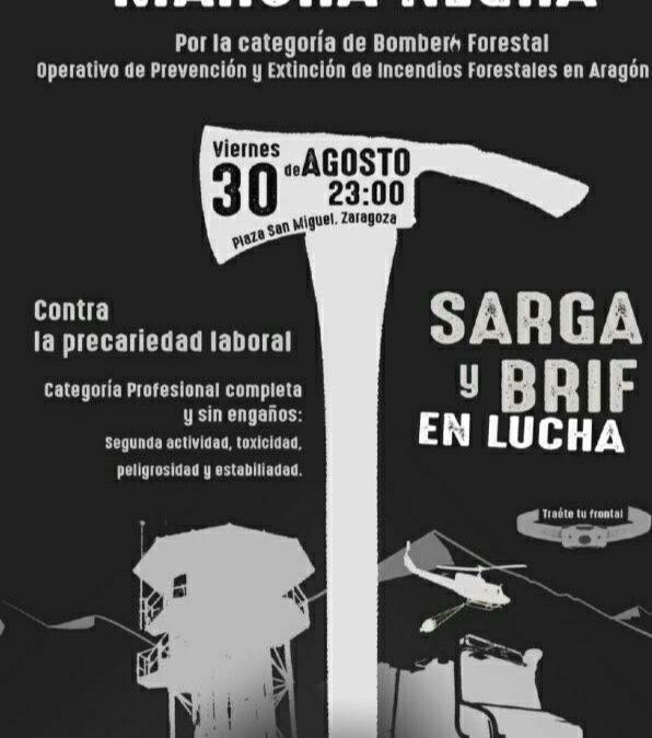 Apoyamos las reivindicaciones de la plantilla de SARGA y BRIF en lucha