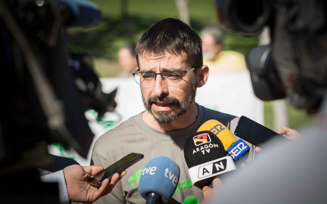 Nos sumamos a las movilizaciones del sector agrario que claman por un futuro digno para las personas que habitan el campo aragonés