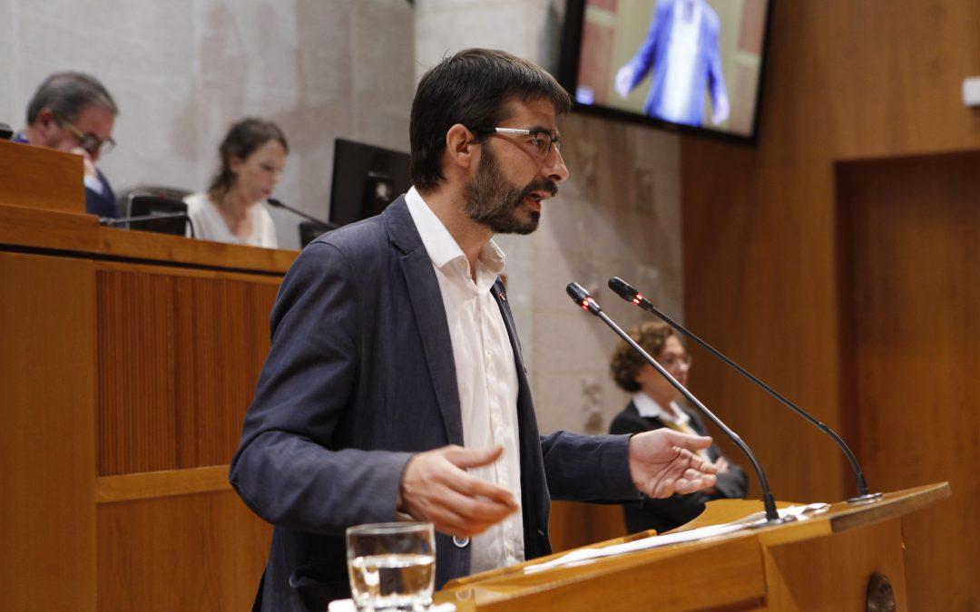 """Sanz: """"Se demuestra claramente que las bajadas de impuestos impiden las adecuadas políticas de gasto público y social"""""""