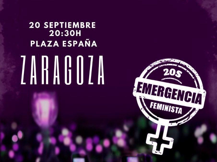 Animamos a participar masivamente en la Noche Violeta por la emergencia feminista