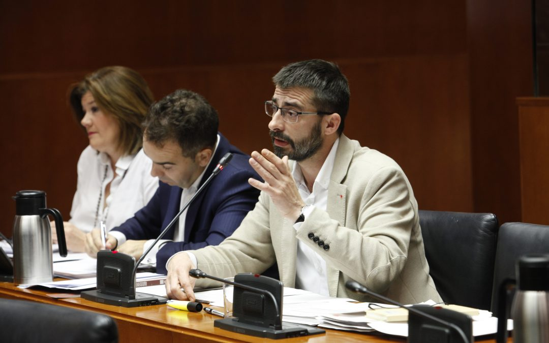 No compartimos la política de ingresos que el Gobierno de Aragón aplica en el borrador de presupuestos para 2020