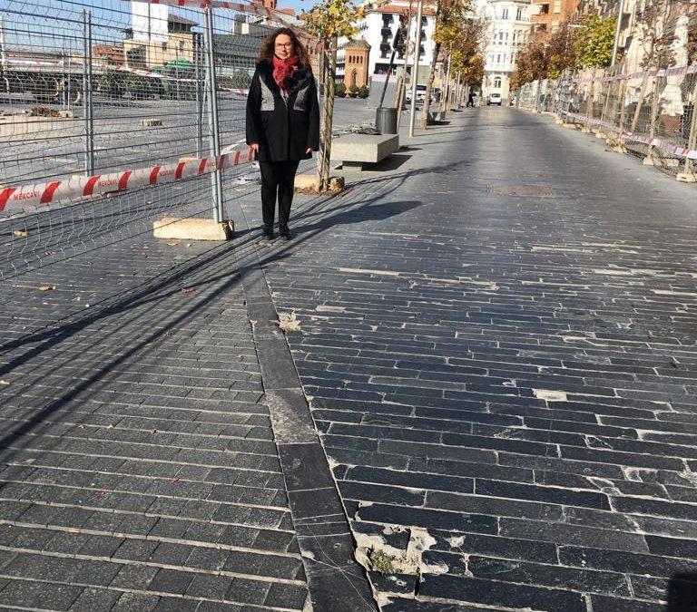 Ganar Teruel – IU, critica la falta de previsión y planificación en las obras y cortes de tráfico producidos en el Óvalo