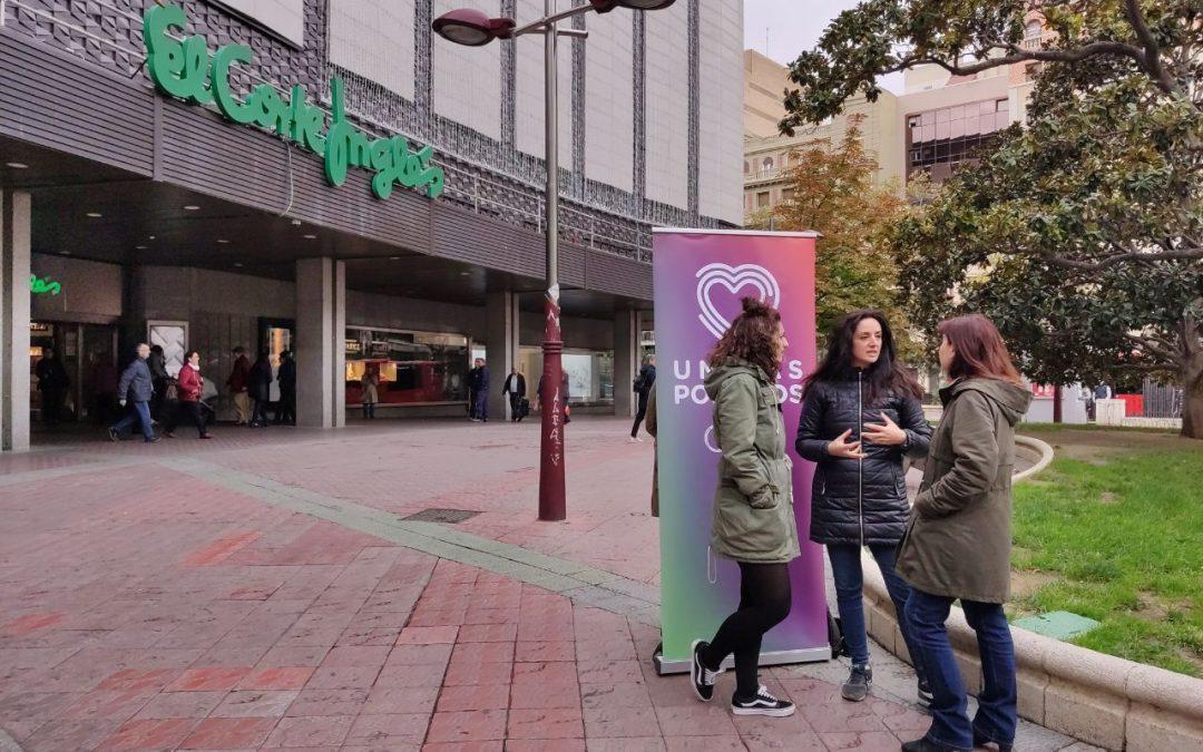 Unidas Podemos defiende una Ley de igualdad retributiva para acabar con la brecha salarial entre hombres y mujeres
