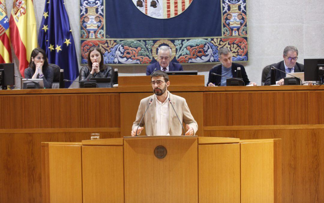 Aprobadas 57 enmiendas al proyecto presupuestario de Aragón para 2020