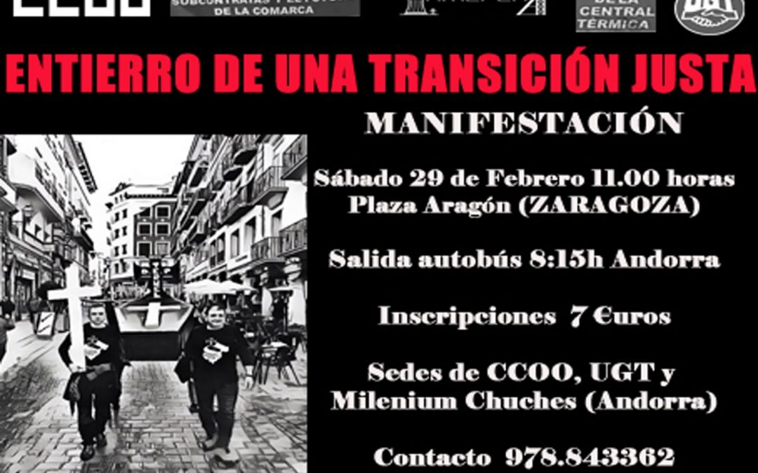 Llamamiento a secundar la convocatoria para reclamar un futuro digno para Andorra