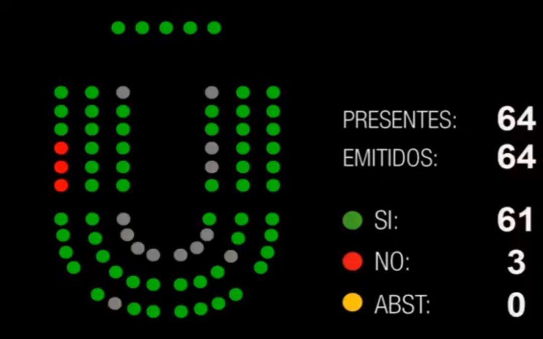 Las Cortes instan al Gobierno de Aragón a abordar la internalización del 061 tras aprobar nuestra iniciativa