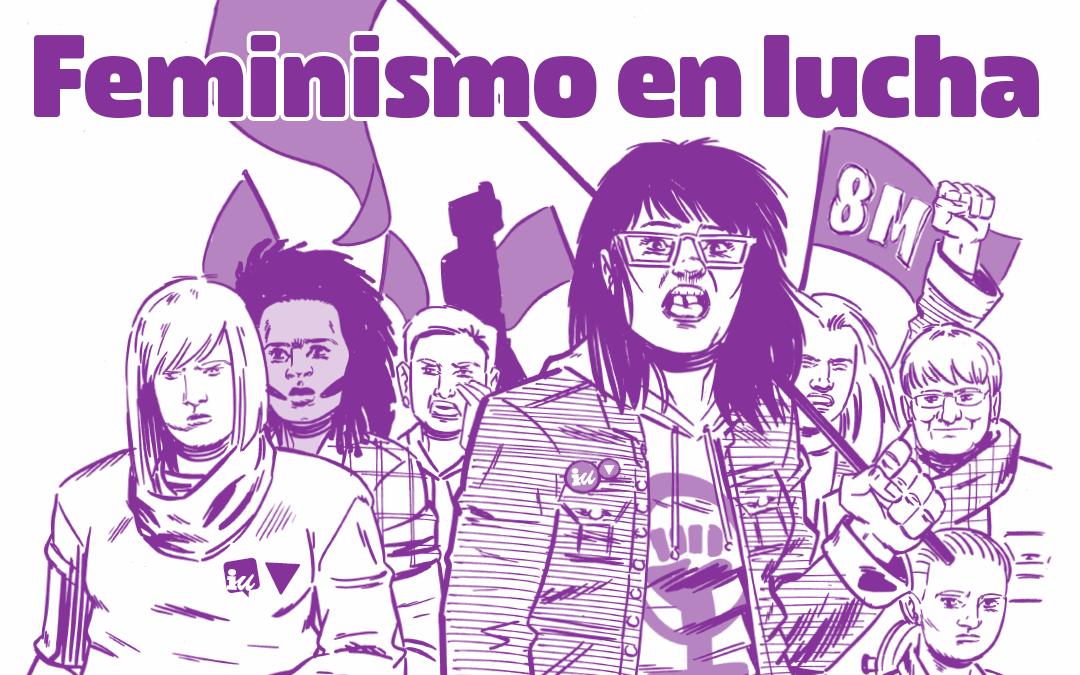 """Desde IU llamamos a la participación masiva en el 8M y a """"escuchar y aprender de la lucha feminista"""""""