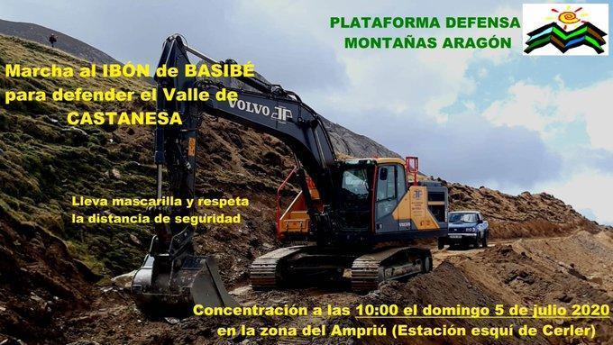 Apoyamos la campaña contra la ampliación de Cerler por Castanesa