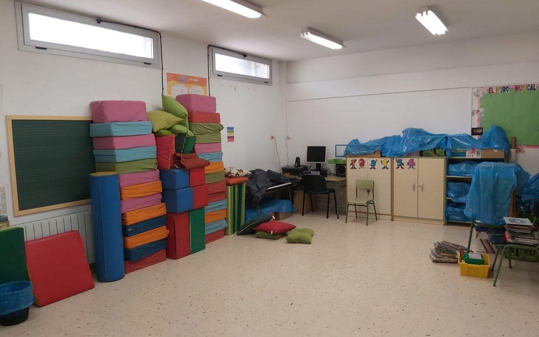 Reclamamos la ejecución del proyecto de ampliación y mejora del centro CEIP Ramón y Cajal de La Joyosa