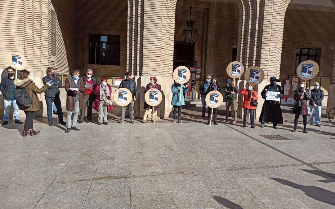 Rechazamos la sospechosa licitación de un nuevo hospital privado en Zaragoza