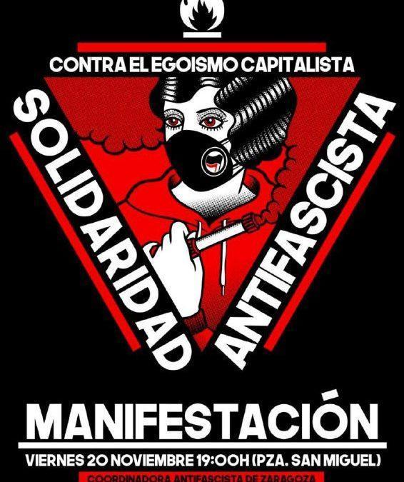 Hacemos un llamamiento para que este 20-N sea un 20-N antifascista
