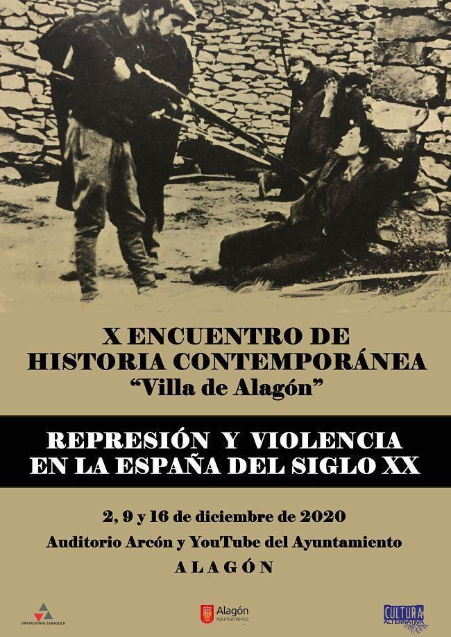 X Encuentro de Historia Contemporánea: represión y violencia en la España del siglo XX