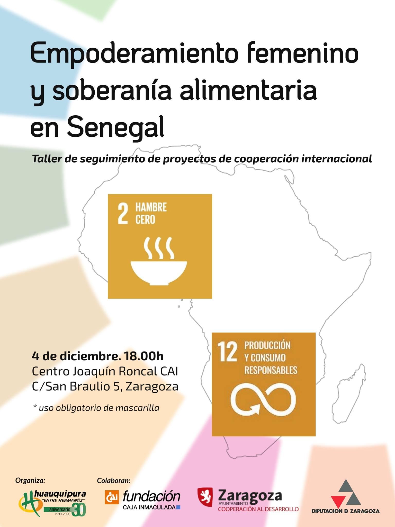 Taller: Empoderamiento femenino y soberanía alimentaria en Senegal