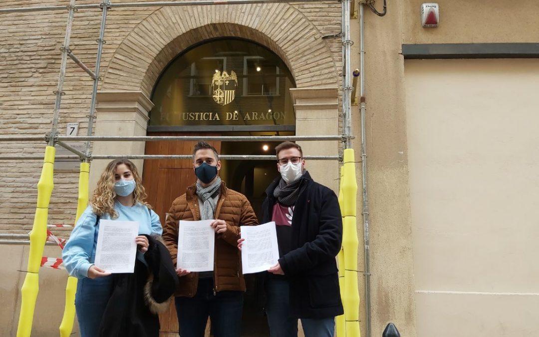 Fuera Casas de Apuestas Zaragoza, Izquierda Unida y Podemos DENUNCIAMOS que el Zaragoza SAD estaría violando la ley aragonesa de protección al menor