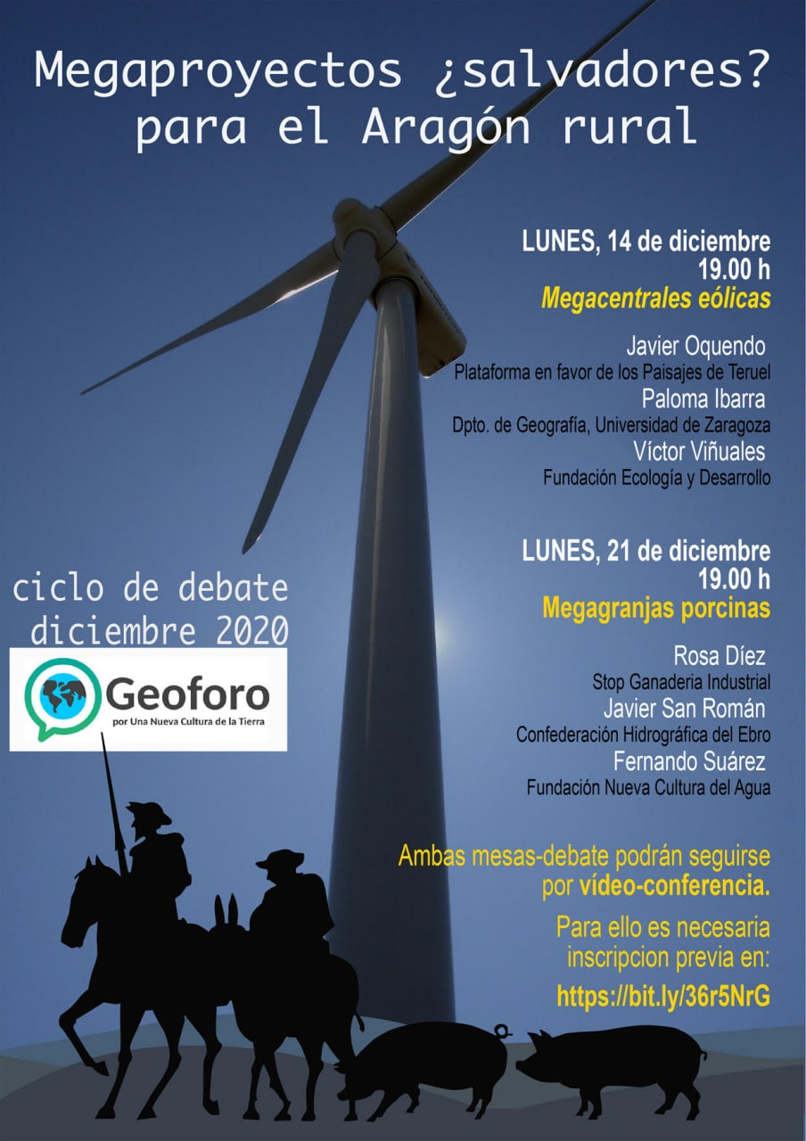 Megaproyectos, ¿salvadores para el Aragón rural?