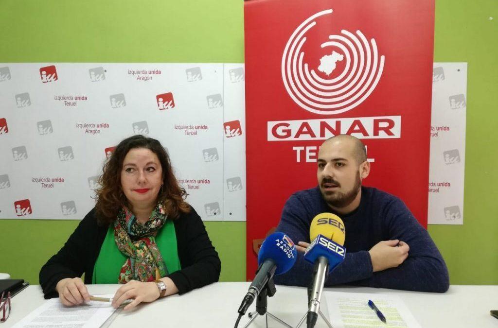"""Ganar Teruel-IU: """"La falta de Política Municipal de Vivienda de Partido Popular y Ciudadanos lastra el desarrollo de la ciudad"""""""