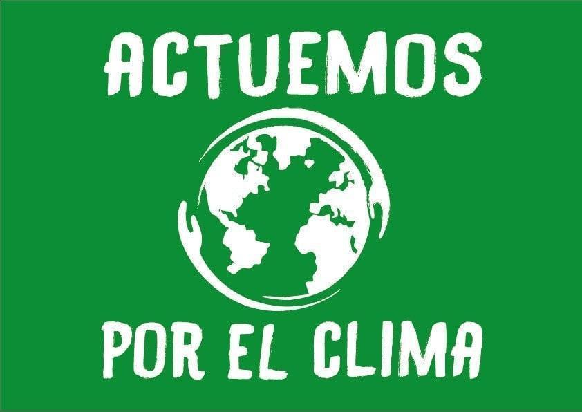 """RESERVA DE BANDEROLAS """"ACTUEMOS POR EL CLIMA"""""""