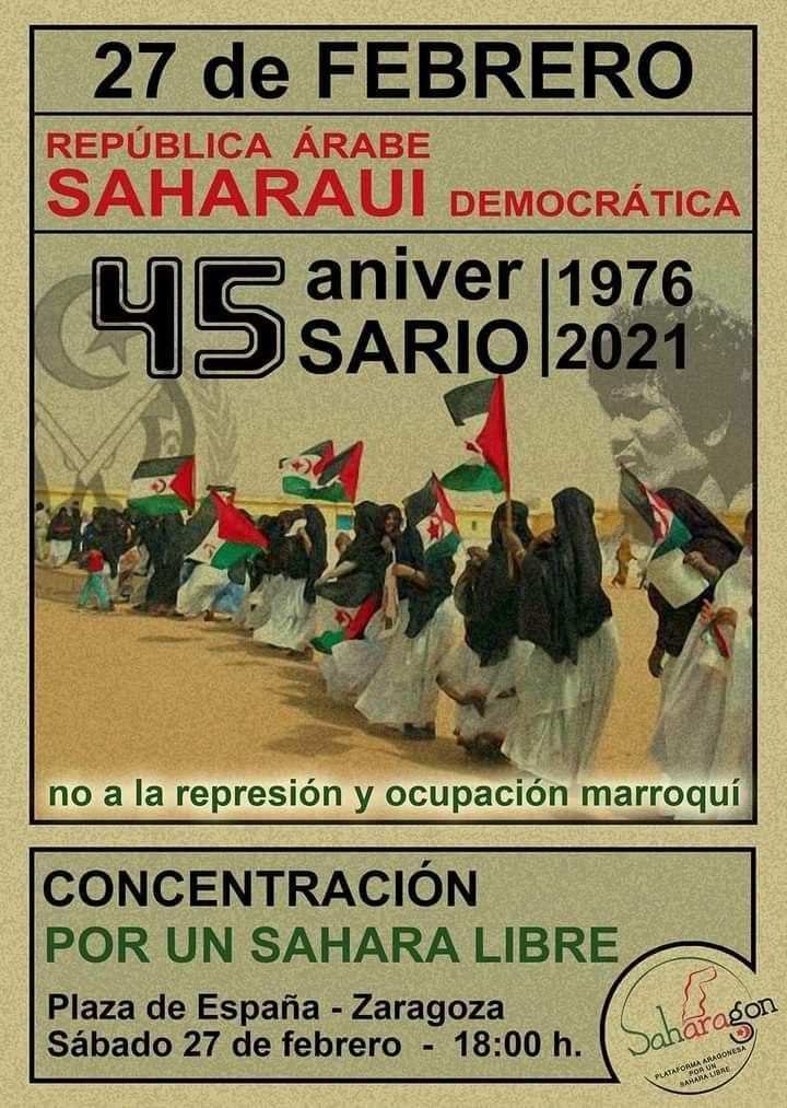 Concentración por un Sáhara Libre