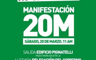 Reivindicamos el derecho a la vivienda y secundaremos las movilizaciones del 20M