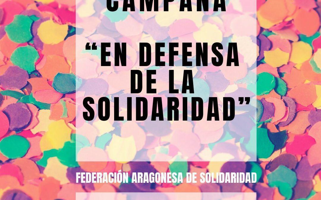 En Común-IU se adhiere a la campaña 'En defensa de la solidaridad' de la FAS