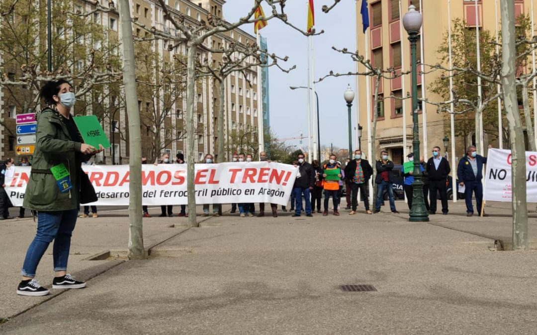 En Común-IU hace un llamamiento a participar en las convocatorias por la defensa del tren
