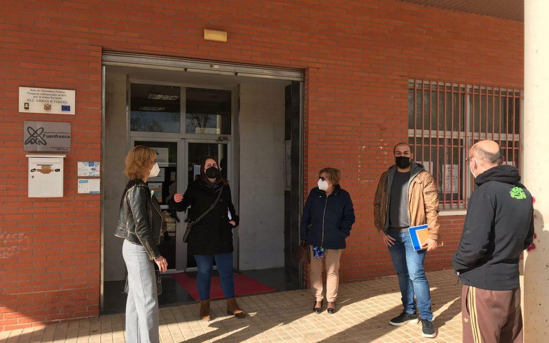 Ganar – IU se reune con la asociación de la Fuenfresca y del Centro Histórico
