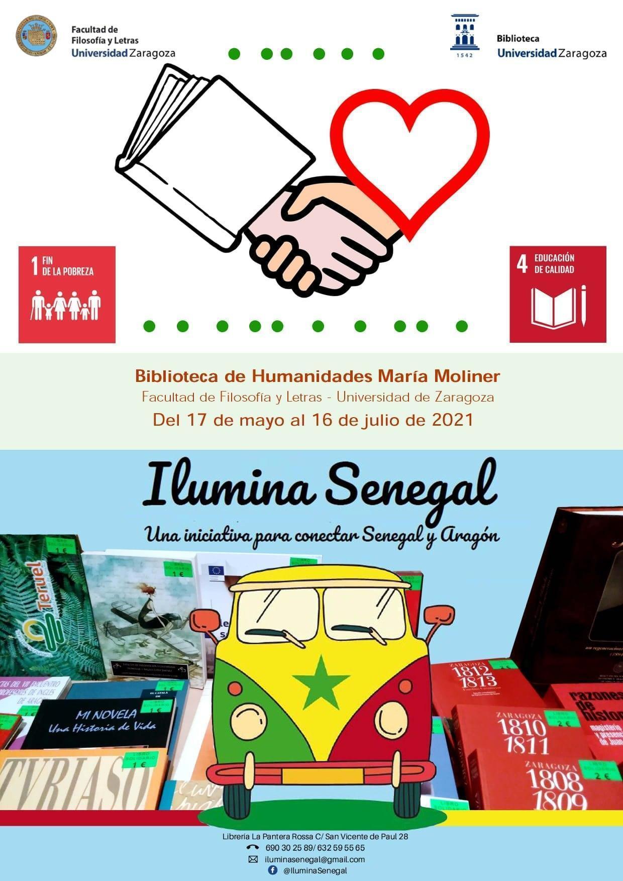 Mercadillo de libros para Senegal