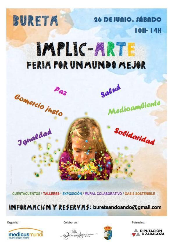 Implic-Arte: Feria por un mundo mejor