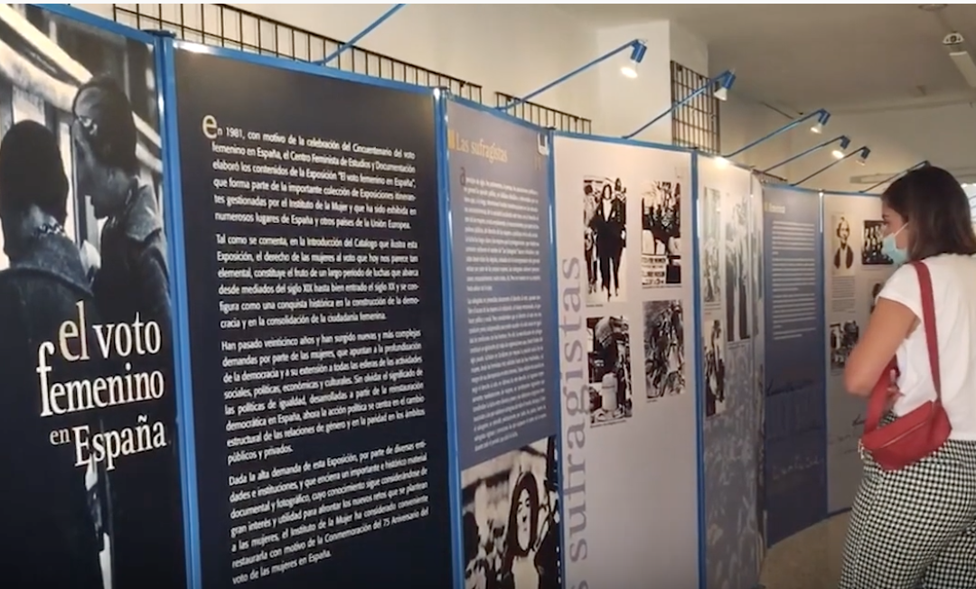 📹 «El voto femenino en España», una exposición reivindicativa desde el feminismo y la política