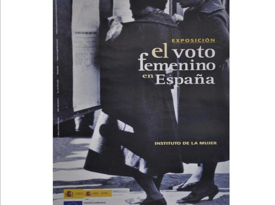 Izquierda Unida inaugura una exposición sobre el voto femenino en España