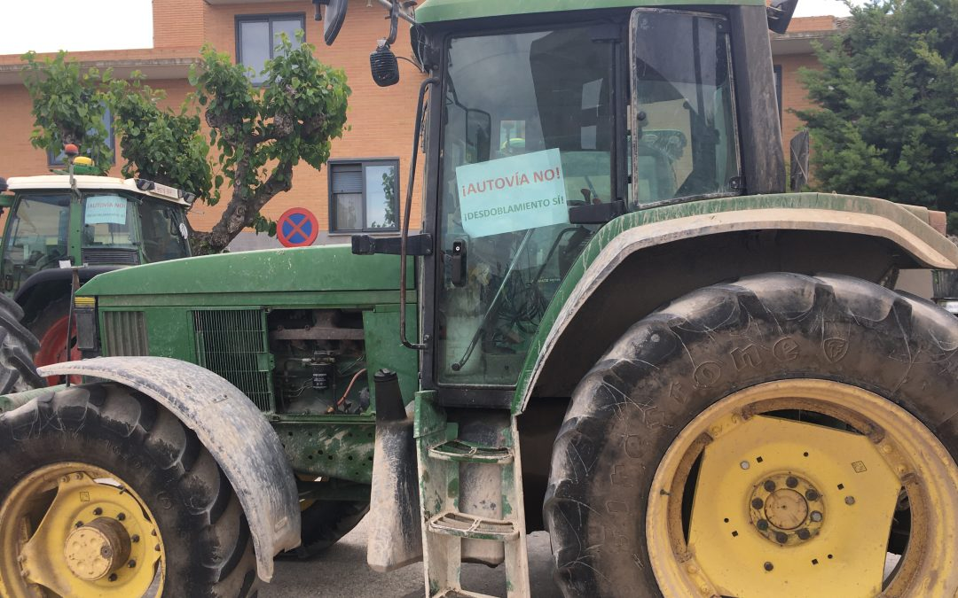 En IU Comarcas defendemos la alternativa del desdoblamiento frente al proyecto de la autovía Gallur-Ejea
